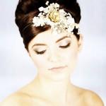 Vintage gold Harriet Steele handmade headpiece vintagejewellery swarovski weddinginspiration bridalstylehellip